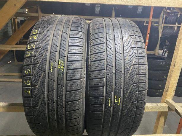 Шини бу зима 265/45R20 Pirelli Sottozero2 6,5мм 2шт