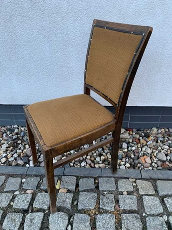Krzesło drewniane z prl