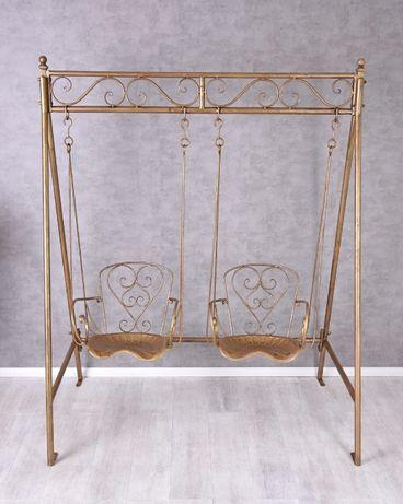 Huśtawka złota ogrodowa metalowa paja191