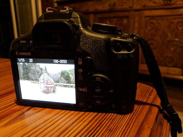 Canon 500 d eos com objectiva 18/200