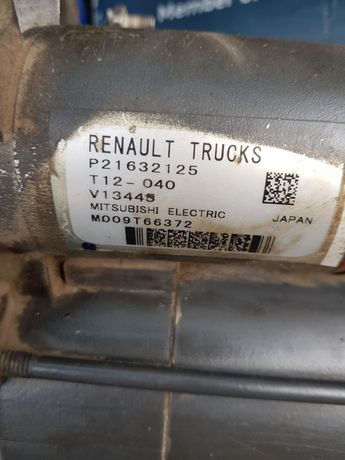 Стартер Renault Magnum e5 , рено магнум