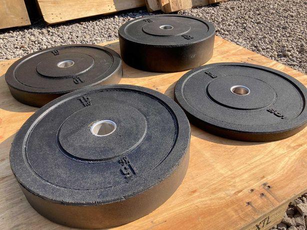 Bumpery 5/10/15/20 kg - 50 fi Olimpijskie Obciążenie Fitness Siłownia
