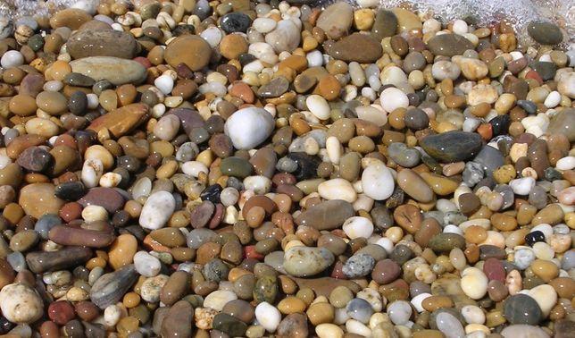 żwir, otoczaki, kamienie ogrodowe, drenaż