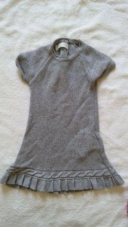 Vestido cinzento bebé menina da Zippy. 6-9 meses