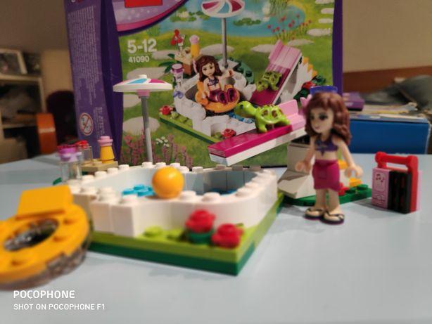 Lego friends 41090 Ogrodowy basen Oliwi 5-12lat bdb