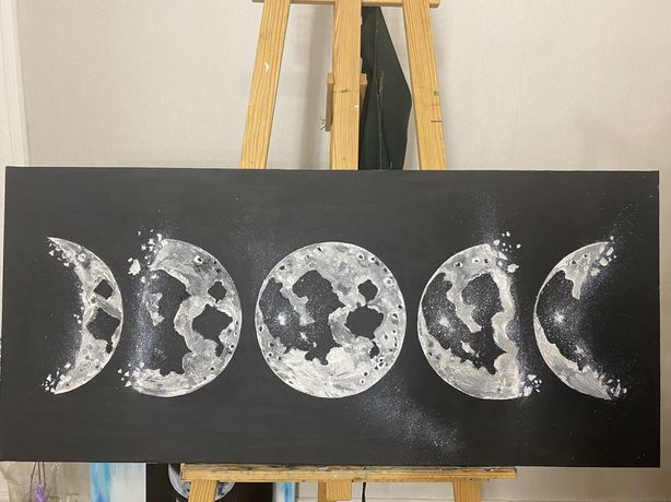 Интерьерная картина Фазы луны