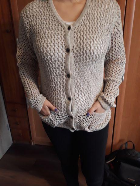 Oryginalny sweter kardigan zimowy. Prosto ze Szwecji