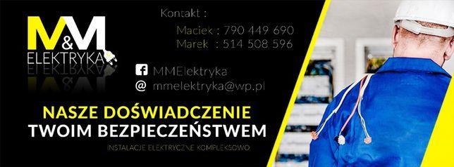 Instalacje elektryczne Elektryk KOMPLEKSOWO. Pomiary