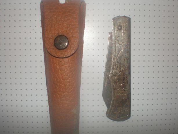 ручной карманный раскладной инструмент-ножик с чехлом ссср.
