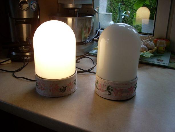 Lampka nocna 2 szt + oryginalne dodatki handmade