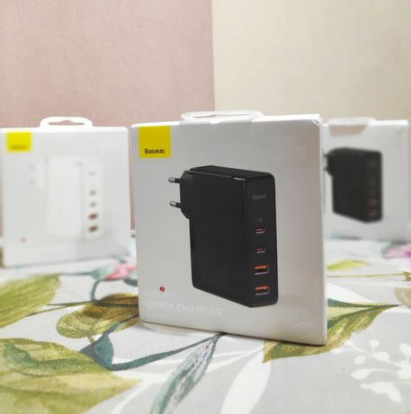Зарядное устройство Baseus GaN2 Pro 100W PD QC 3.0 4.0 usb type-c