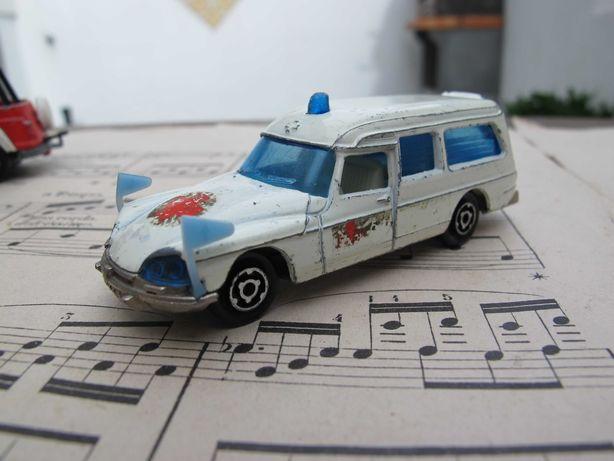 Majorette Ambulância nº 206 - Miniatura Antiga