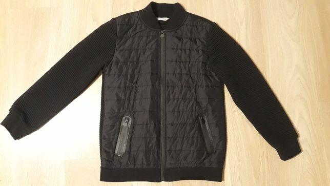 Sprzedam bluzę czarna elegancka 164 coccodrillo