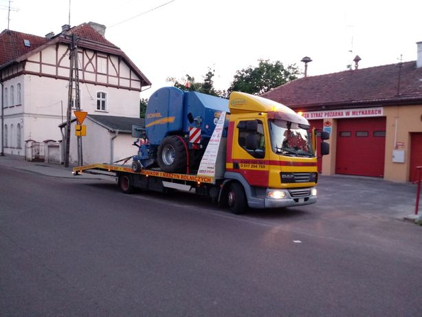 Pomoc Drogowa Autoholowanie Przewóz Ciągników i Maszyn Laweta