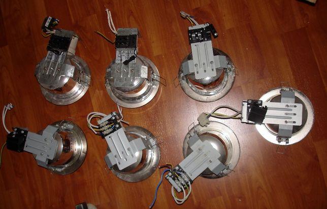7 Projectores de embutir