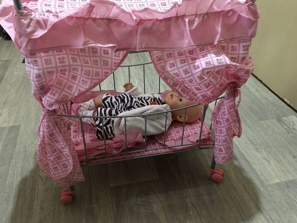 Кроватка игрушечная для куклы