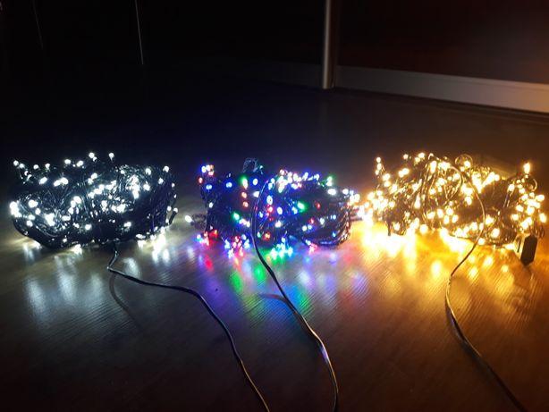 Lampki 100LED 200 i 300 LED na choinkę hurt detal