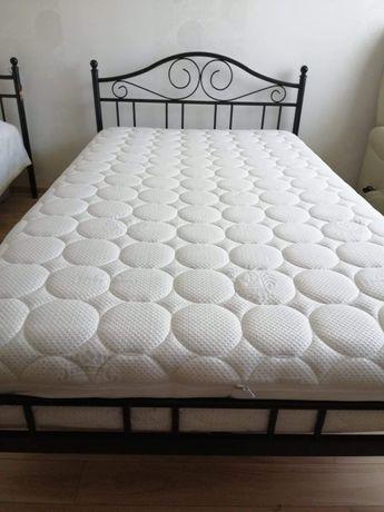 Łóżko sypialniane 120/200 plus Materac SILVER PROTECT