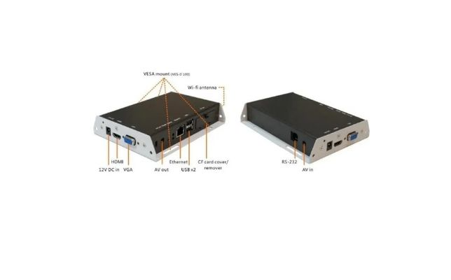 Сетевой медиаплеер Advantech Iadea XMP-320 Digital Signage Player