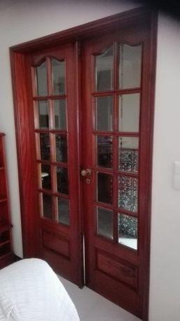 Portas interiores com vidro