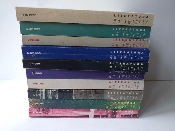 Literatura na Świecie - książki do wyboru