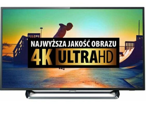 Telewizor LED 4K SMART Ultra HD ubezpieczony gwarancja