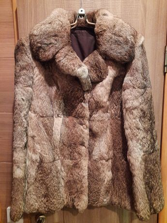 АКЦИЯ! Зимняя Шуба Кролик парка куртка пальто полушубок зима теплая