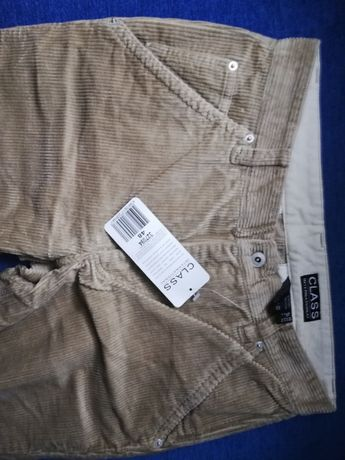 Sztruksowe spodnie męskie 48