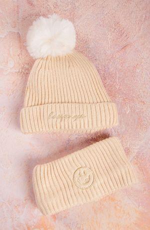 Комплект шапка і хомут