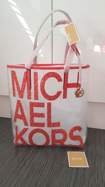 Oryginalna torebka Michael Kors z nadrukiem