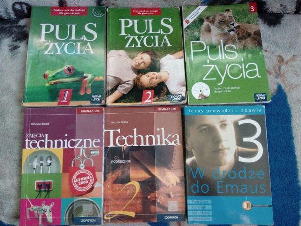 Podręczniki Gimnazjum( Biologia,Technika,Religia)
