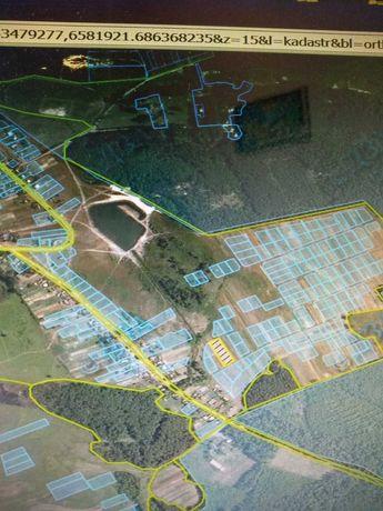 Земельна ділянка біля бази «Сокіл» село Суськ