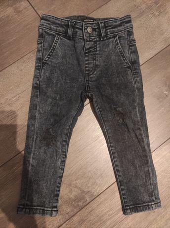 Jeansy spodnie Reserved 92