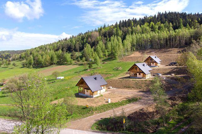 Drewniany Dom z działką w Beskidach