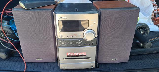 Mini wieża Sony CMT-NEZ20 mp3 pilot