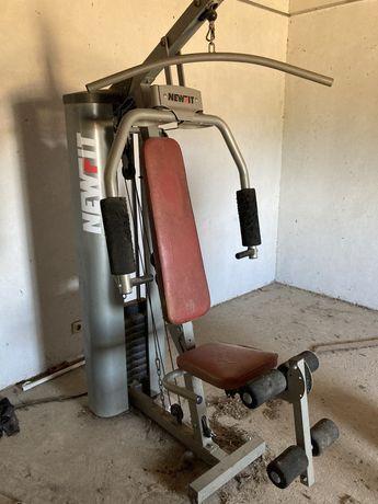 Maquina de ginásio