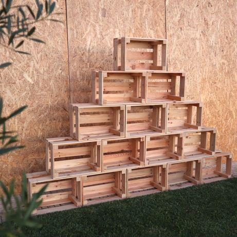 Aluguer de caixas de madeira