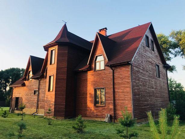 Посуточно дом возле Чернигова с баней и беседкой, для отдыха