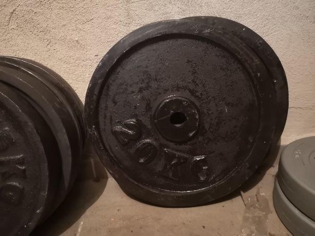 obciążenie żeliwne 100kg