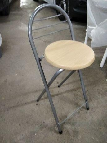 Cadeiras altas madeira