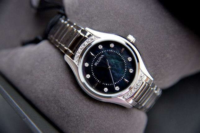 Бриллианты. Женские часы с бриллиантами Bulova