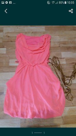 (33)sukienka lekka 38 40