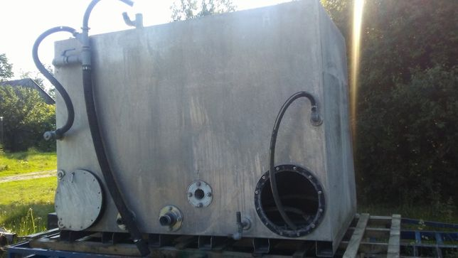 zbiornik mieszalnik bentonit bentonitu chłodziwa zamiana