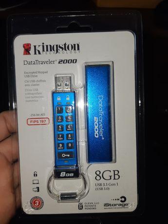 Флешка Kingston datatraveler  8 gb