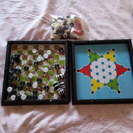 5 jogos de tabuleiro novos e bingo
