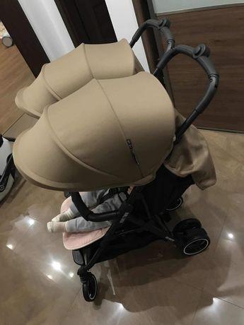 Wózek spacerowy Kuki Twin baby Monsters