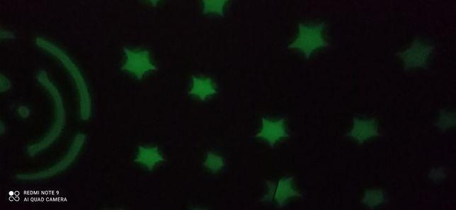 Подушка проэктор звёздного неба ночник