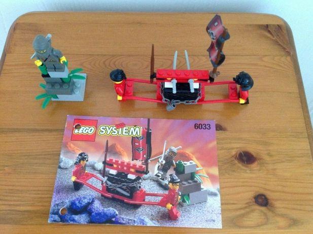 lego system 6033 Castle Ninja Treasure Transport 1998 rok
