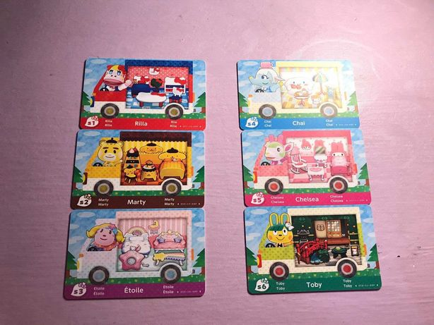 Animal Crossing Amiibo Cards Sanrio Edition