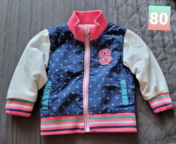 Kurtka bluza roz 80